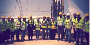 A Field Trip to the SRTA Solar Power Plant