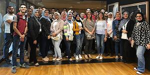 A Field Trip to Bibliotheca Alexandrina
