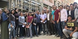 A Field Trip to Zahraa Al Mamoura Construction Site