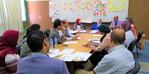 The Coordinators of the Centre (CDEC) Convened a Meeting