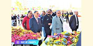 Khair Team Organized a Charity Market