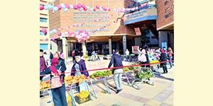 Dream Team Organized a Charity Market