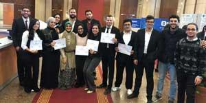PUA Students Won in the Entrepreneurship Students in Bibliotheca Alexandrina